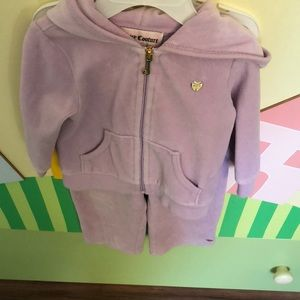 Cute baby zipped sweet shirt and pans